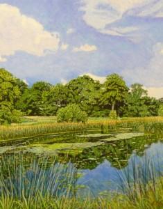 Small Lake, Branston Summer