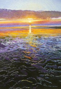 Sunset, Brancaster Beach, North Norfolk