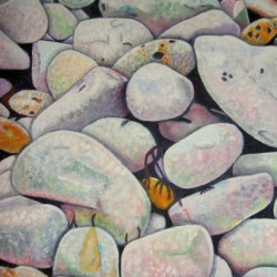 Pebbles, Sewerby Beach, Yorkshire 1